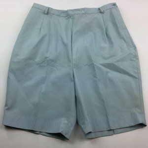 Vintage Queens Casual Womens NOS Blue Shorts Metal